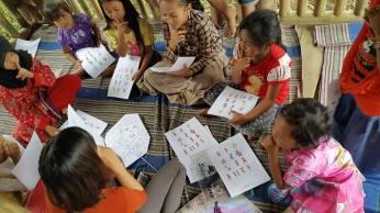 Belajar Musik di alam @Taman Baca Leda Bintang, Probolinggo, 07/02/16